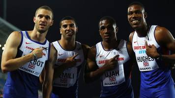 germaine mason: britain's sprinters pay tribute at world relays in bahamas