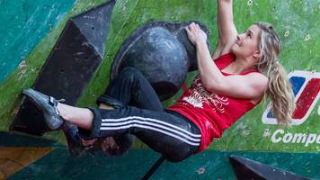 Shauna Coxsey: Bouldering World Cup silver for Britain's defending champion