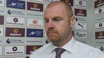 burnley 0-2 man utd: sean dyche frustrated to concede two 'poor' goals