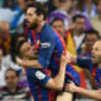Messi double as Barca beat Real Madrid
