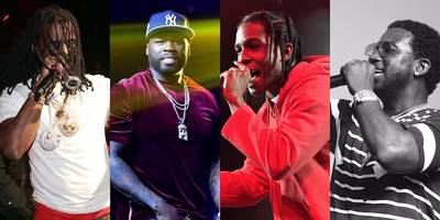 coachella 2017: watch gucci mane bring out 50 cent, a$ap rocky, chief keef