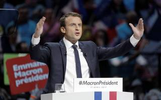 French election poll: Emmanuel Macron and Marine Le Pen set for final round