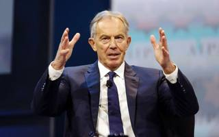 Tony Blair is really tempted to make a political comeback