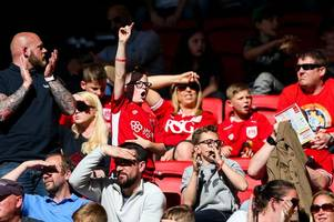 bristol city fan's view: the lady is entering stage left