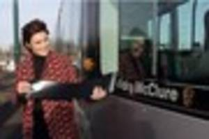 actress vicky mcclure reveals she was thrown off her own tram in...