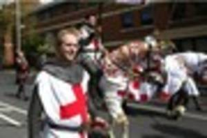 nottingham's st george's day parade was biggest yet