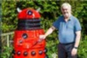 meet the man who's built two amazing daleks
