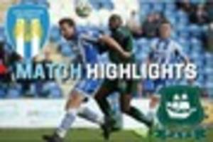 watch highlights of plymouth argyle's creditable draw at play-off...