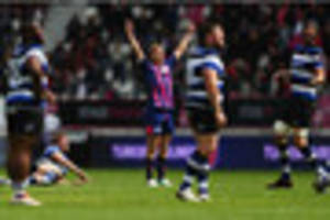 jules plisson drop goal sinks bath to set up gloucester-stade...