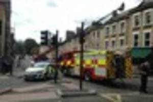 Bombay Lounge restaurant fire in central Bath was 'accidental'...