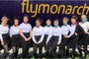 Scunthorpe cabin crew students put through their paces at...