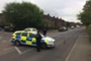 melbourne avenue cordoned off by essex police as officers...