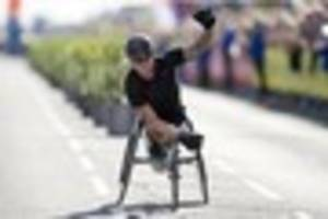 Wallintgon Paralympian wins the London Marathon for the seventh...