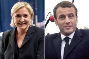 Marine Le Pen and Emmanuel Macron go forward to final round of French election