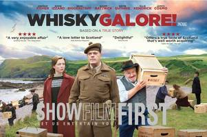 see the new whisky galore film at the cinema for free with this great offer