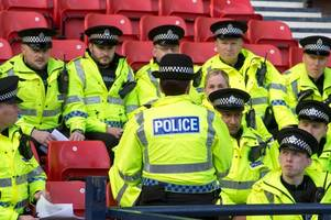 ten arrested after old firm semi-final cup clash at hampden