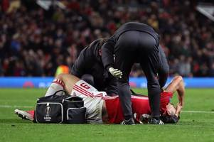 Manchester United facing injury crisis as form duo Zlatan Ibrahimovic and Marcos Rojo to miss Swansea City visit