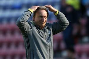 neil warnock will target more attacking options in the summer after admitting cardiff city were blunt against wigan athletic