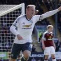 Wayne Rooney marks comeback with goal as Manchester United beat Burnley