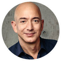 now world's second-wealthiest, bezos travels to different drumbeat
