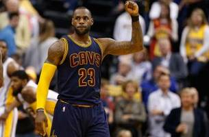 5 incredible LeBron James stats from the Cavaliers' sweep of the Pacers
