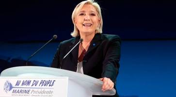 French election: Marine Le Pen stepping down as leader of National Front party