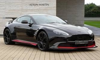 Ultra-Rare Aston Martin Vantage GT8 For Sale At GBP 259,950