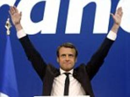 France election shock pushes euro stocks to record highs