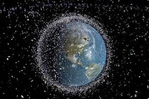 the esa's dramatic video shows why space junk is such a big problem