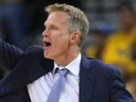 Golden State Warriors coach Steve Kerr will miss game four