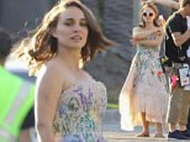 natalie portman shows off her sensational post-baby body