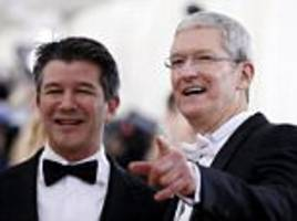 uber's ceo surrendered in showdown with apple's tim cook