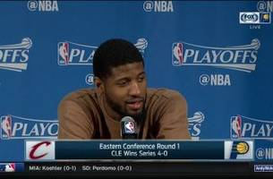 PG on his future in Indiana: 'I'm not even at that point yet'