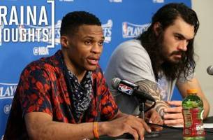 Russell Westbrook says he has an idea which Rockets were laughing at one of his teammates