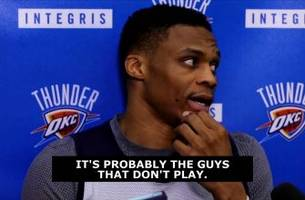Westbrook takes shot at Rockets for mocking Roberson