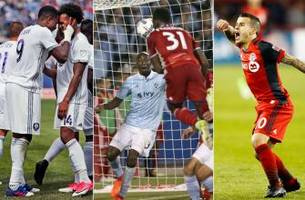 the mls xi week 8: nagbe, giovinco, larin dazzle; recycled jerseys lead to confusion