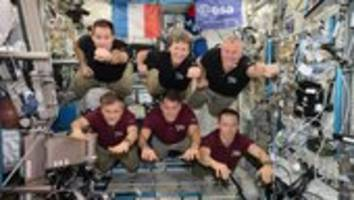 science record set on space station