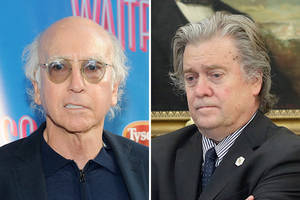 larry david slams 'seinfeld' investor steve bannon for 'profiting from the work of industrious jews!'
