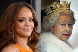 unapologetic rihanna responds to 'haters' with another queen photoshop