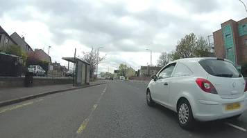 unmarked police cyclist to advise edinburgh drivers over bike space