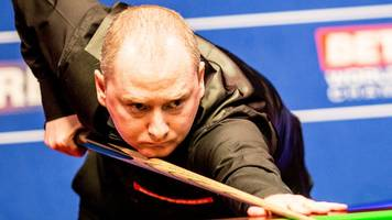 world championship 2017: graeme dott laments form but says hawkins can win title