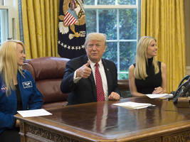 trump congratulates astronaut peggy whitson for record aboard international space station