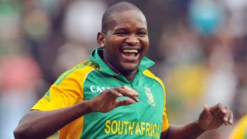 Ex-South Africa player Tsotsobe charged with match-fixing