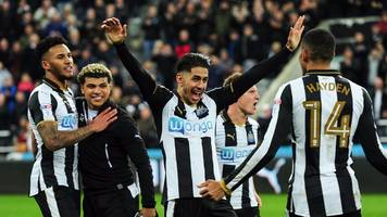 Newcastle are promoted back to the Premier League after victory over Preston