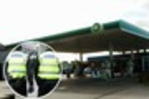 'Gun' found following armed robbery at BP garage in Leads Road,...