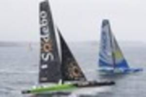 plymouth chosen to stage huge golden globe solo yacht race in...