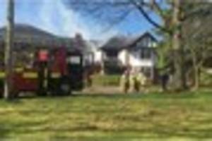 Family escape injury after devastating house fire in Westlands