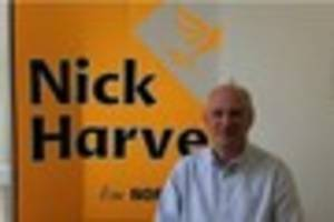 former north devon mp nick harvey has announced he will stand for...