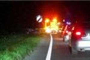 bmw sports car involved in serious a30 crash which shuts road...
