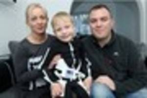 six-year-old aiden phillips from par needs an operation in the us...